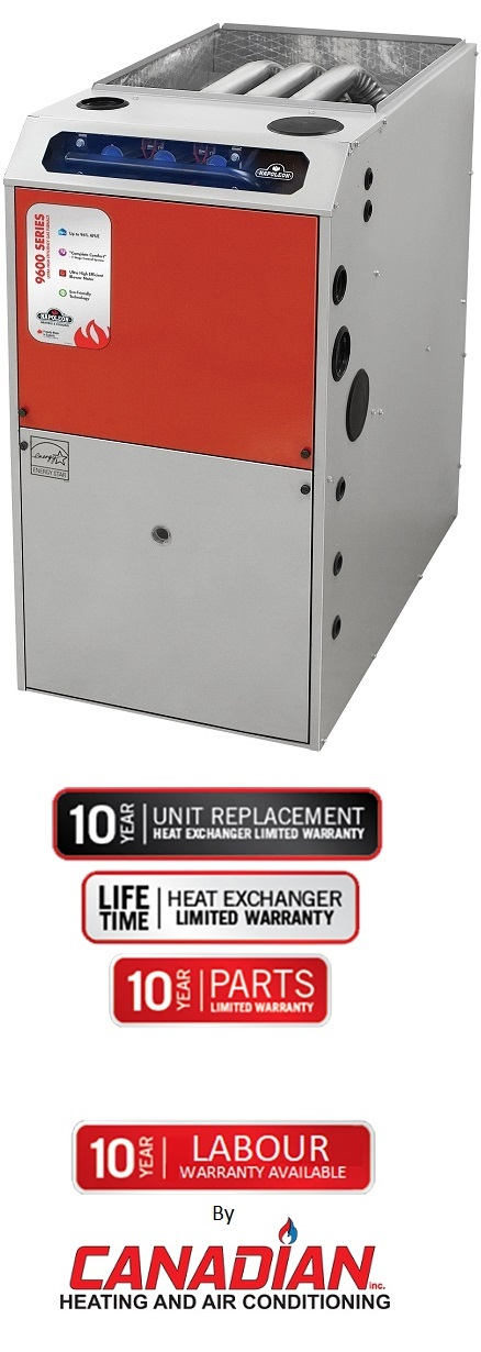 9600 Series Gas Furnace