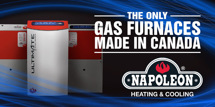 Gas Furnace Made in Canada